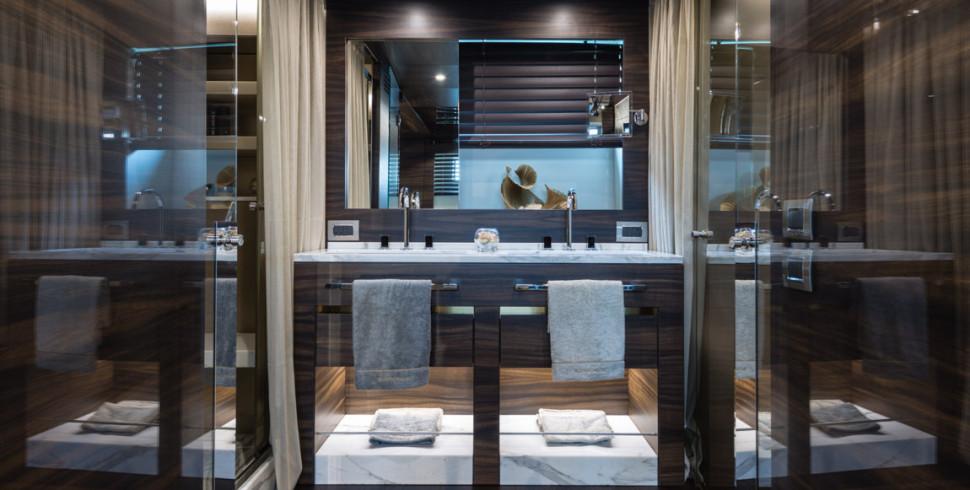 Il bagno perfetto di un hotel