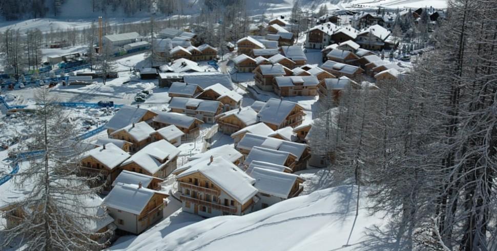 Il progetto e la realizzazione di Pragelato Village Resort