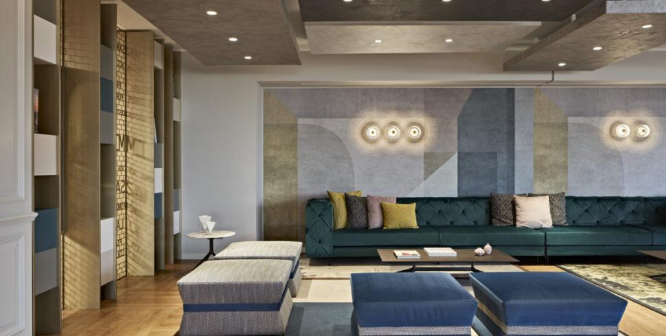 Protetto: L'interior design che incoraggia l'interazione allo Sheraton Milan San Siro